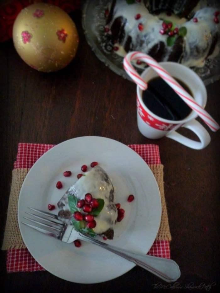 #Chocolate #Mint #Holiday #Cake