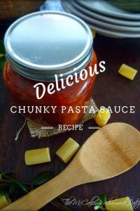 Perfect Chunky Pasta Sauce with Mild Sausage has layers upon layers of delicious flavor. A thick rich, sauce that's perfect for penne, rigatoni, or mostaccioli pasta. Made with quality Italian Mild Sausage, onions, peppers, zucchini, minced garlic, organic roasted tomatoes, organic crushed tomatoes, and fresh herbs.