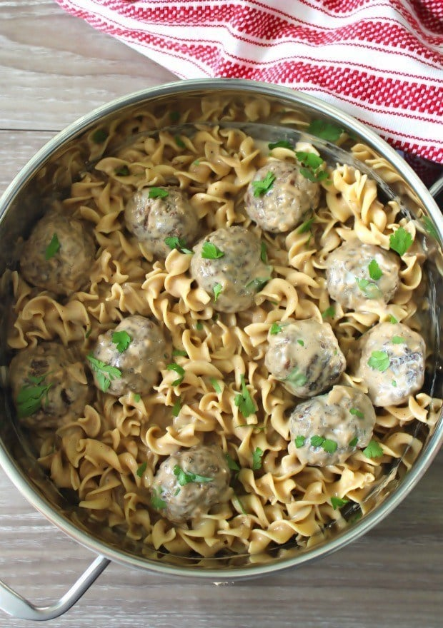 Swedish Meatballs have been made and enjoyed in American homes for years as an appetizer at dinner parties and swanky get-togethers. Chances are if your grandparents or parents were the typesof folks to enjoy throwing fancy dinner parties in the '40s, '50s, '60s, and early 70's you might have had the privilege of enjoying these international delights from Sweden.