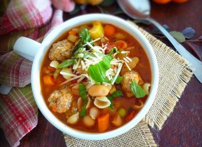 Italian Sausage and Vegetable Soup