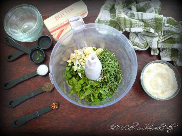 Garlic and Herb Bread Recipe by The McCallums Shamrock Patch Blog