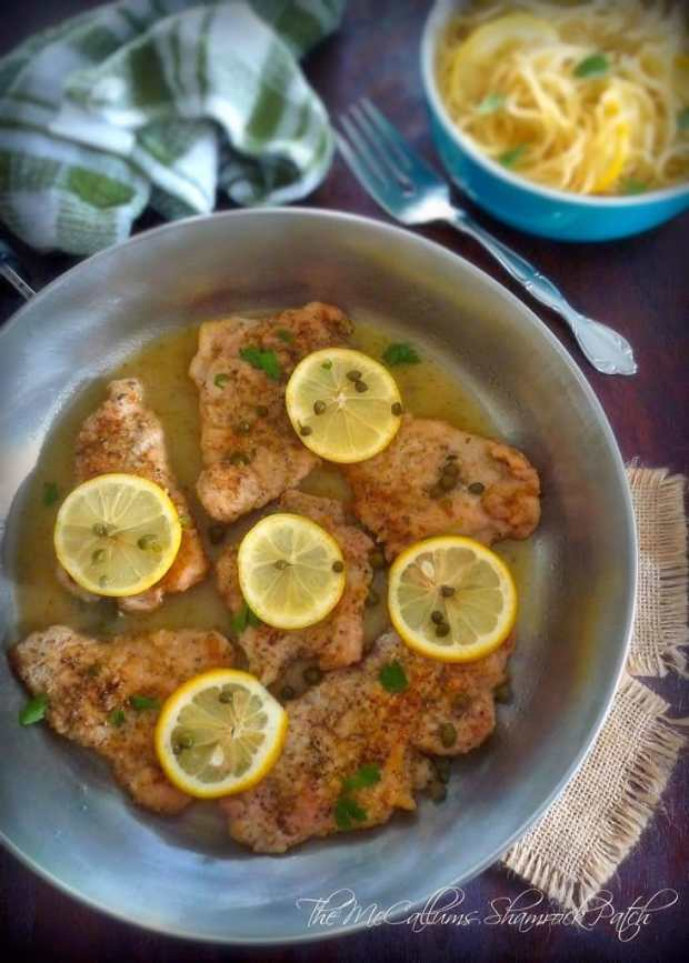 Pork Piccata with Capers