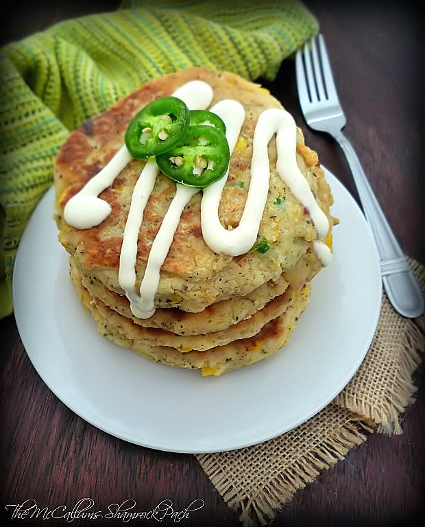 Southern Potato and Corn Fritters