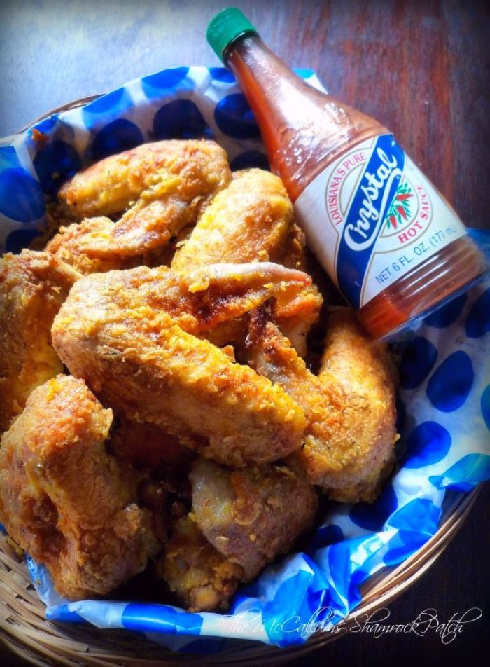 Baked Spicy Breaded Cajun Chicken Wings are finger licking good without all the saucy mess you'd expect; Spicy Breaded Cajun Chicken Wings are soaked in rich buttermilk and hot sauce overnight, deliciously seasoned with spicy Cajun seasoning and made with a crispy crunchy Cajun-style Batter for the perfect outcome.