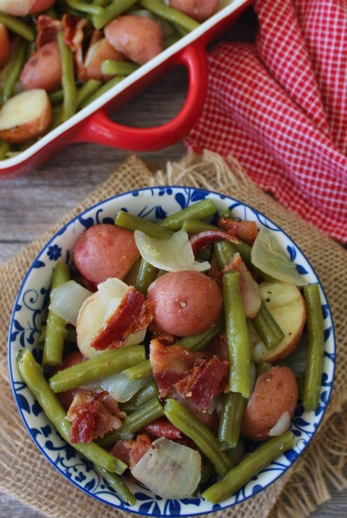 Southern-Style Green Beans and Red Potatoes