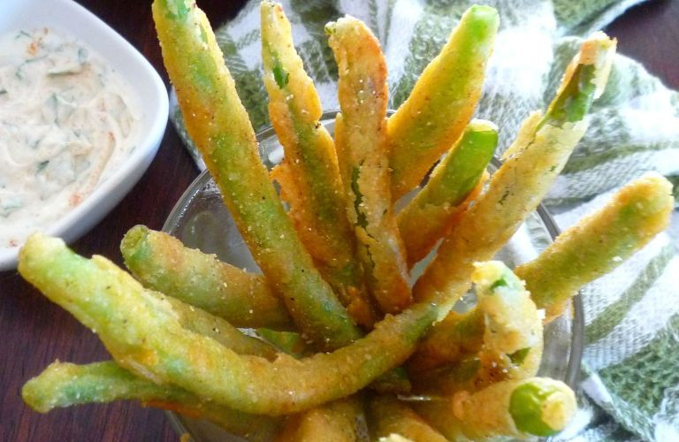 Southern-Style Fried Green Beans