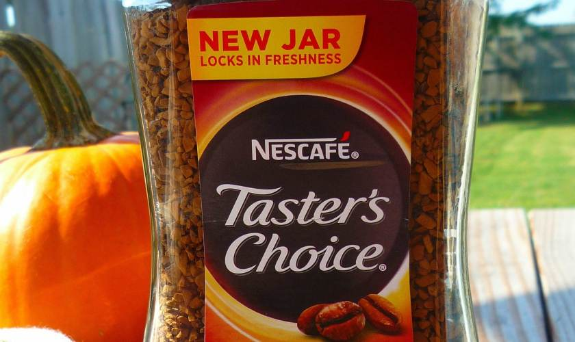Coffee Caramel Marshmallow Brownies made with 'NESCAFÉ® Taster's Choice®  #AD