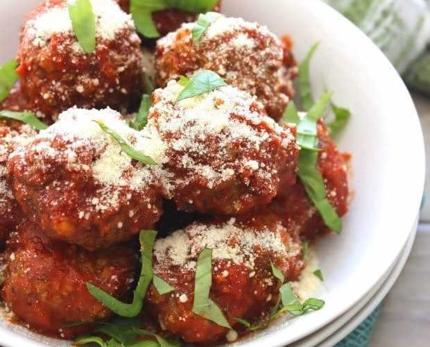 Traditional Meatballs { Italian-American Recipe}