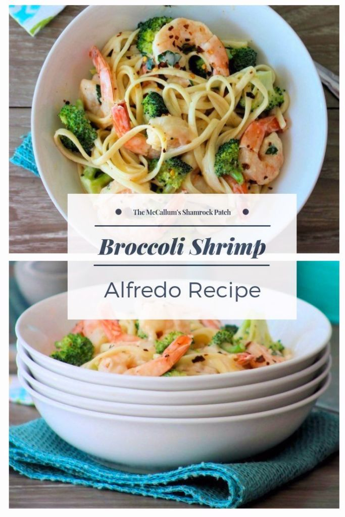 This take on a classic Italian-American recipe forBroccoli Shrimp Alfredo combines a rich cheesy tasting Alfredo Sauce with deliciously succulent gulf shrimp and fresh organic broccoliflorets.It's super easy to make and the perfect comfort food to serve yourfamily, that's ready to eat in no time at all on busy work nights.