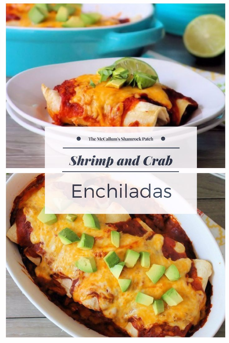 Shrimp and Crab Enchiladas are the perfect balance of the fabulous seafood flavors of succulent large shrimp and decadent lump Crab with all the Mexican flavors wrapped in a deliciously complex Red Enchilada sauce. Voted as one of the best comfort foods for dinner by family and friends alike.