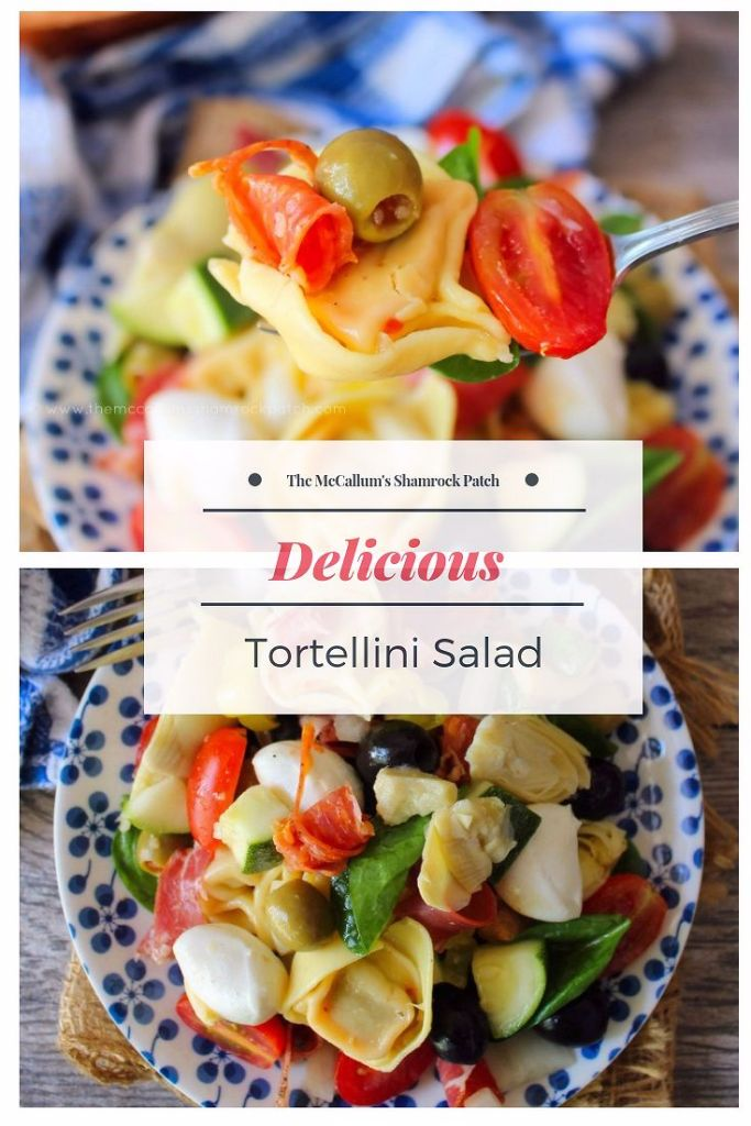 This easy Tortellini Salad is absolutely bursting with rich colors and layers of flavor from locally grown veggies, cheeses, and select Italian deli meats. If you're harvesting tomatoes or zucchini in your garden this year, Tortellini Salad is a fantastic way to use those fresh ingredients up in a snap.
