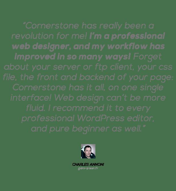 Cornerstone | The WordPress Page Builder 4
