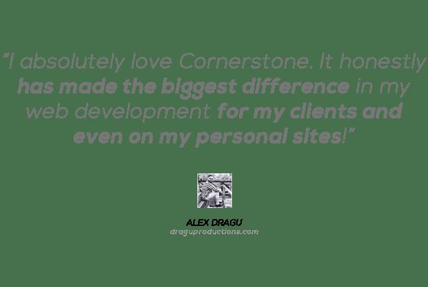 Cornerstone | The WordPress Page Builder 8