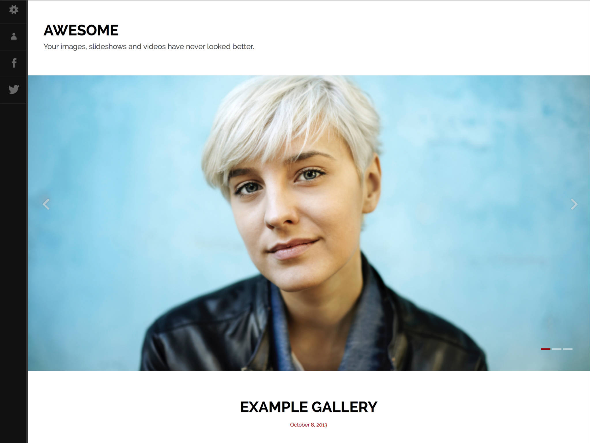 Awesome WordPress Theme