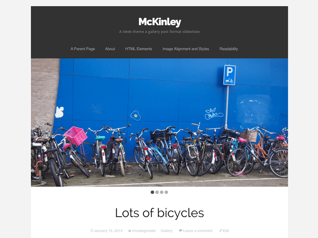 McKinley WordPress Theme