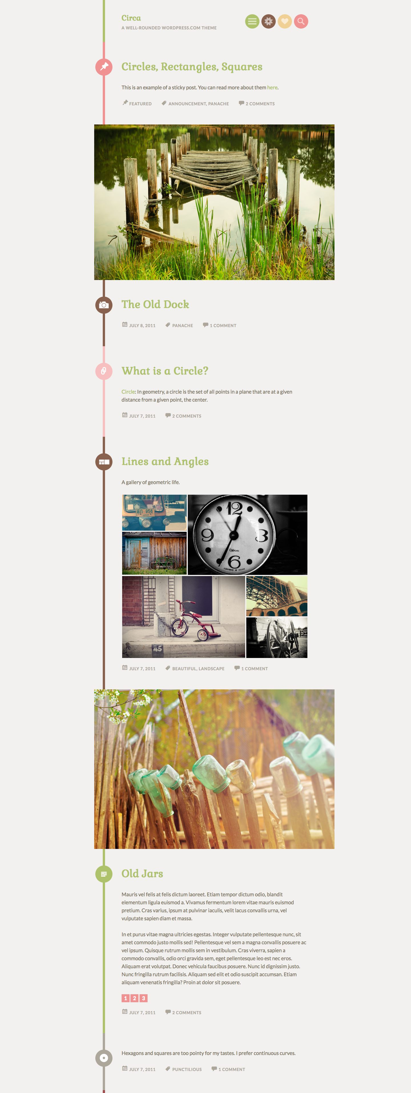 Circa WordPress Theme