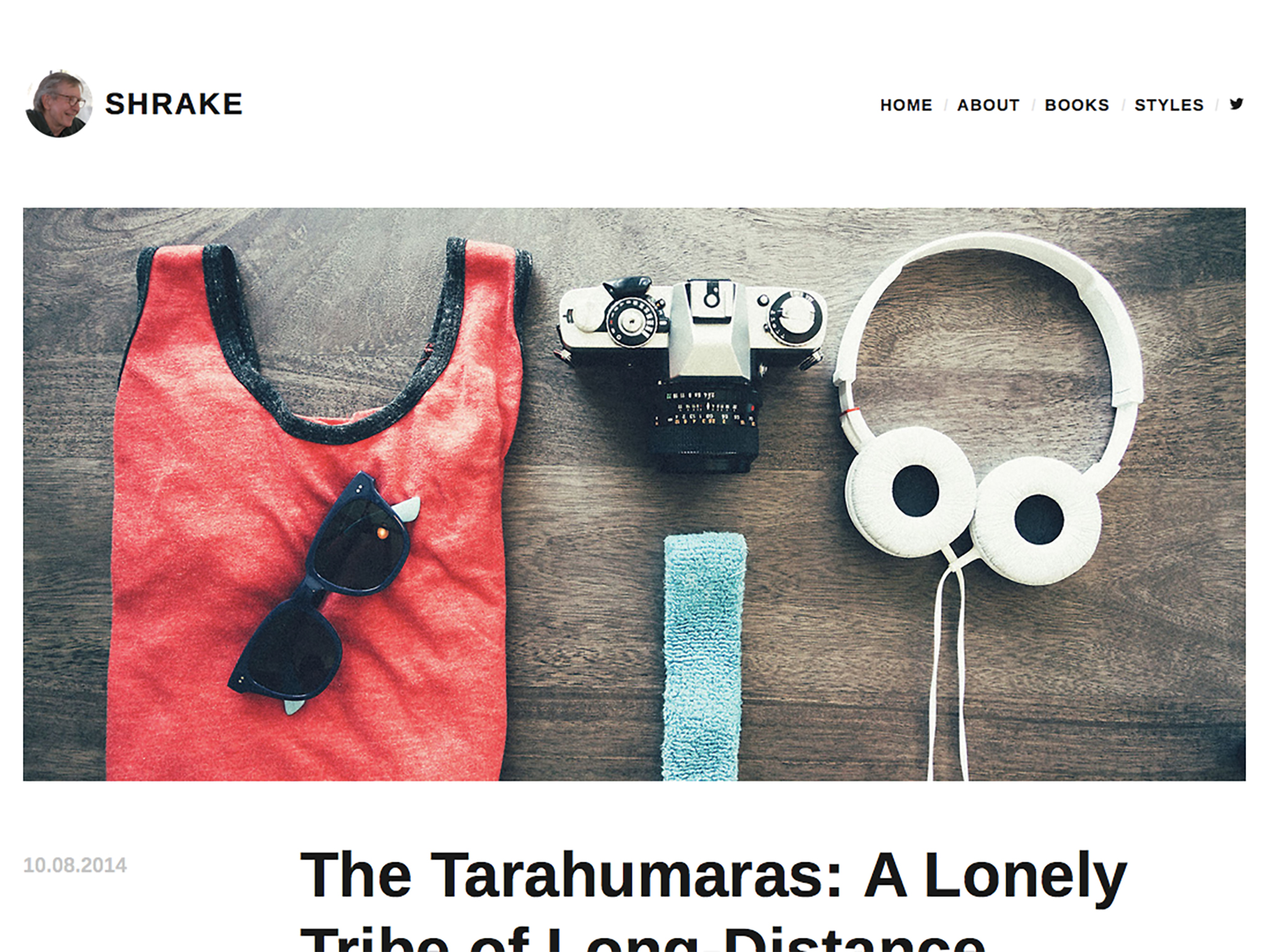 Shrake WordPress Theme
