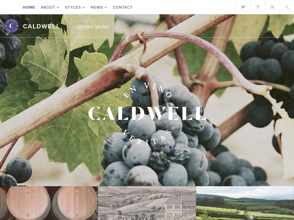 Caldwell WordPress Theme