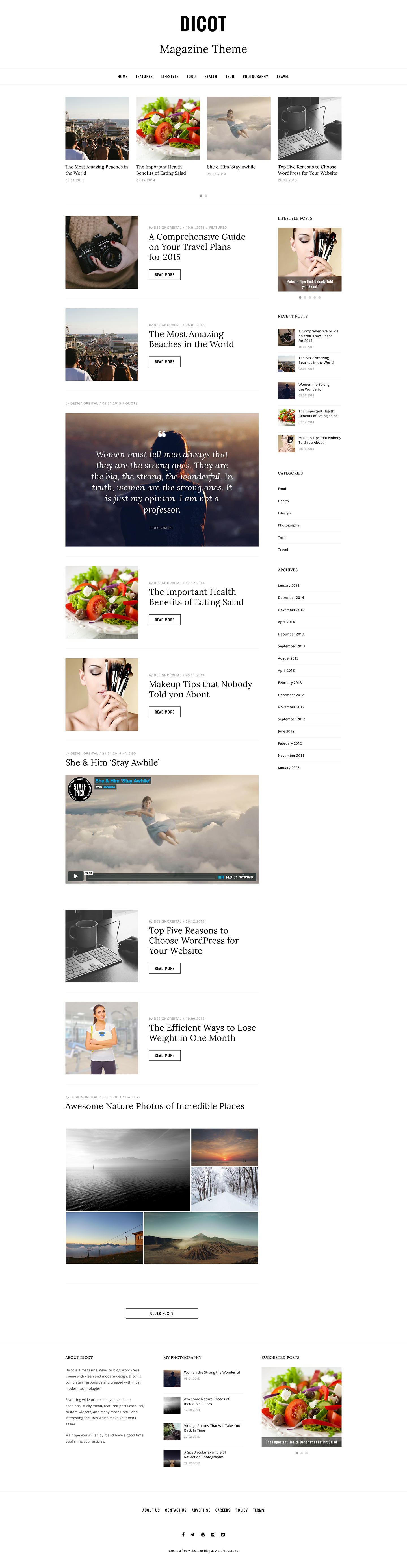 Dicot WordPress Theme
