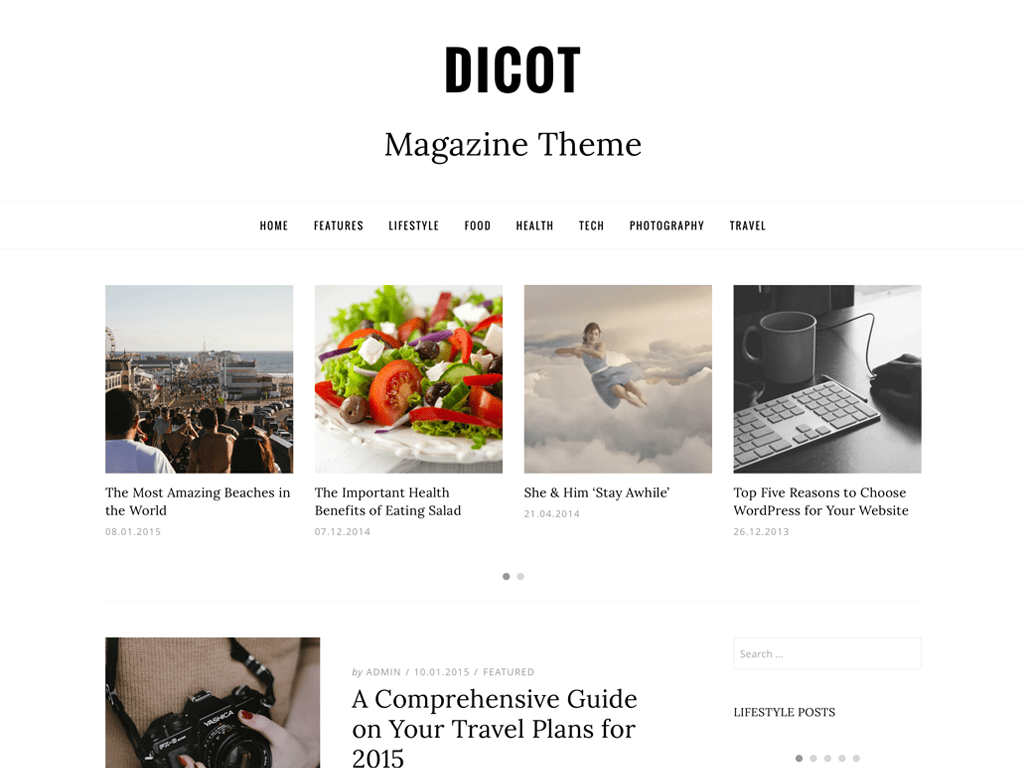 Dicot WordPress Theme