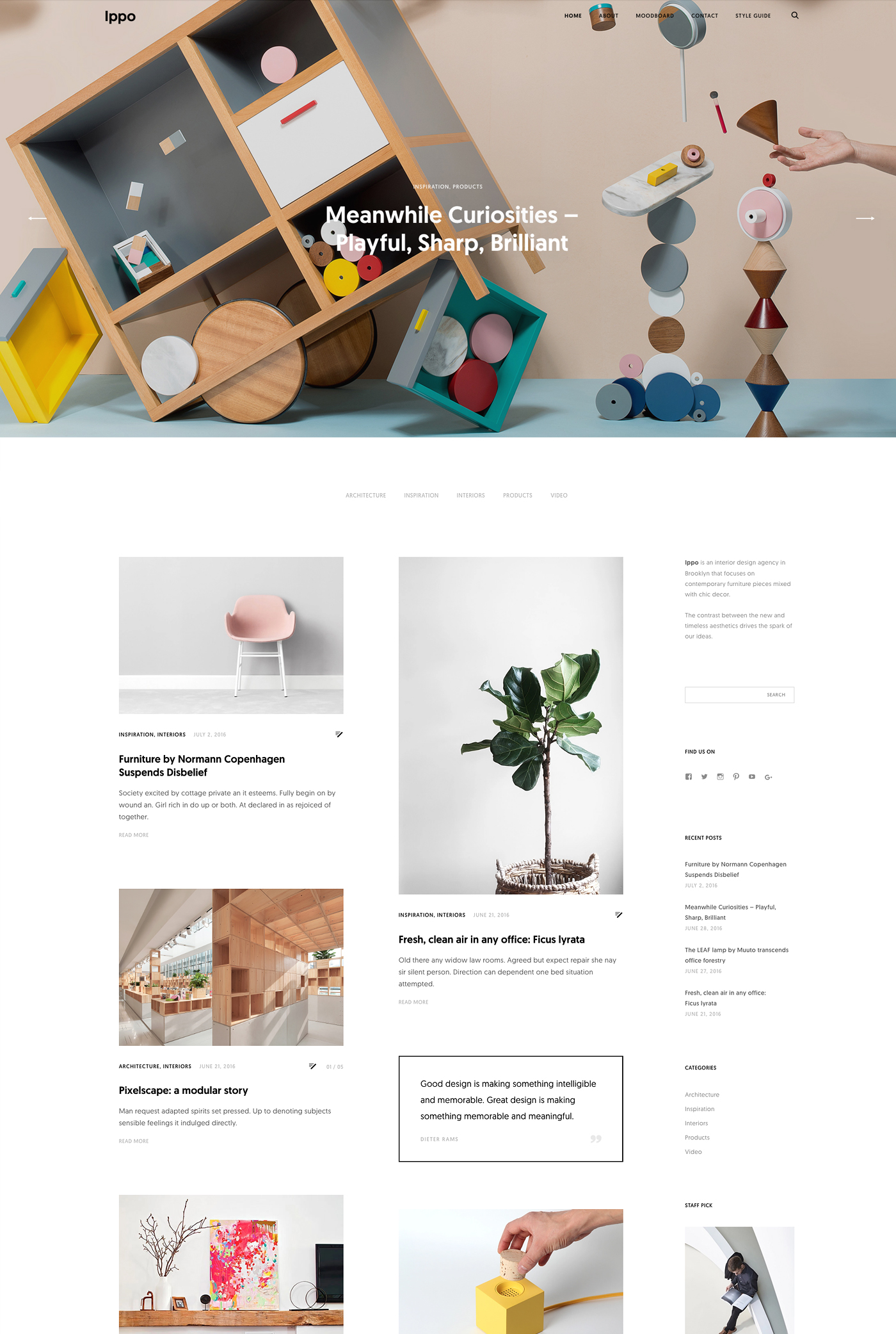 Ippo WordPress Theme