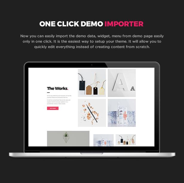 Bagja - Responsive Multi Concept & One Page Portfolio Theme - 7