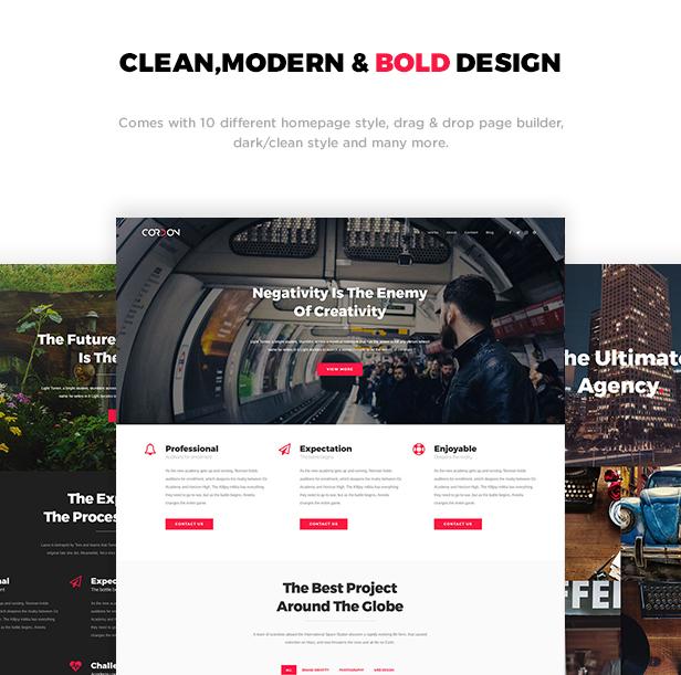 Cordon - Responsive One & Multi Page Portfolio Theme - 1