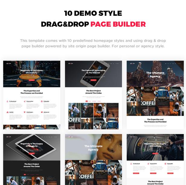 Cordon - Responsive One & Multi Page Portfolio Theme - 2