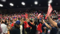 It is confounding to witness such great support for a candidate deemed as a racist bigot, however the crowds Trump drew were nothing less of supportive.