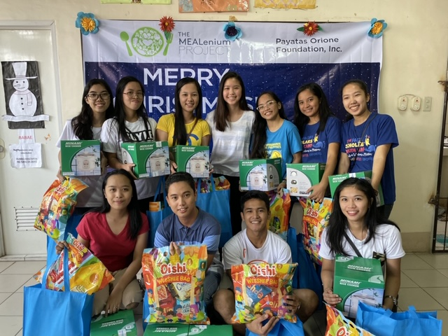 Christmas 2019 for The MEALenium Project Scholars