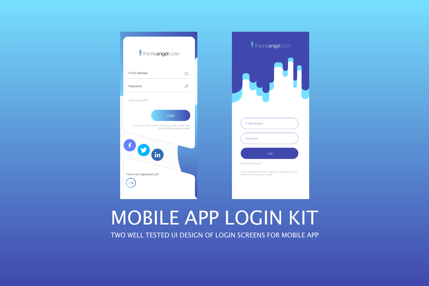 Mobile App Login Kit