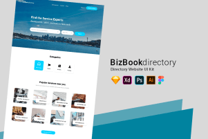 Directory Website UI Kit