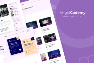 AngelCademy - An e-Learning Website UI Kit