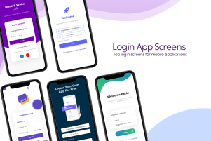 Mobile Login Screen | Theme Angel