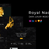 Royal Nacht | Dark Luxury Web Template