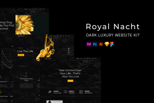 Royal Nacht - A Dark Luxury Theme