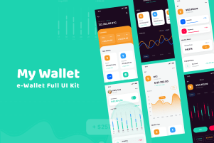 My Wallet - Full Fintech UI Kit
