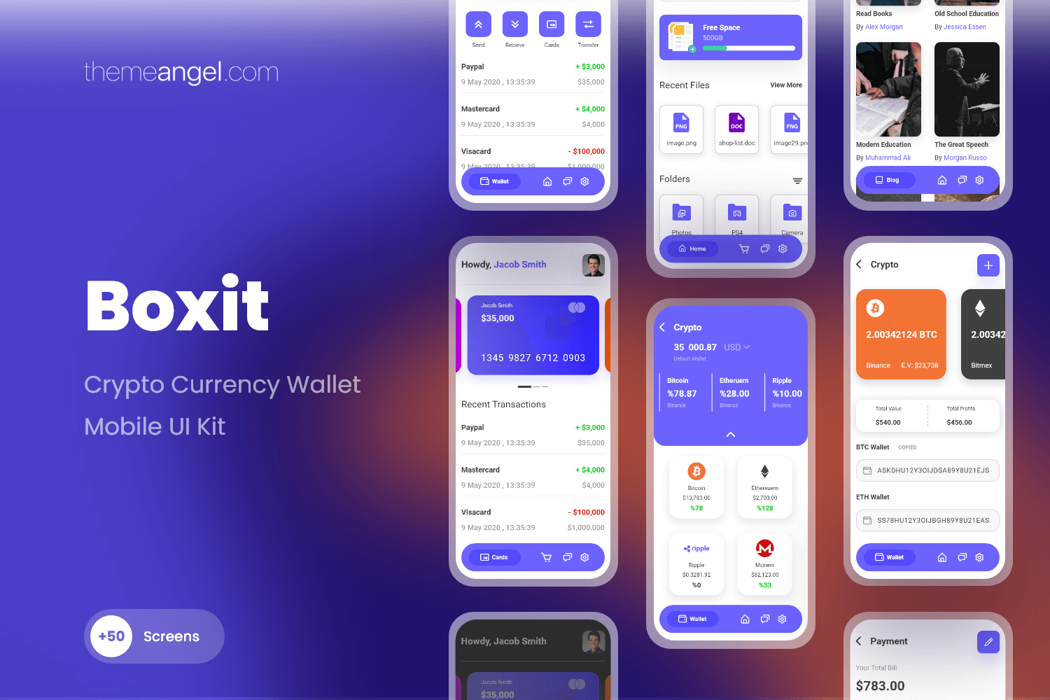Boxit - Fintech Mobile Application
