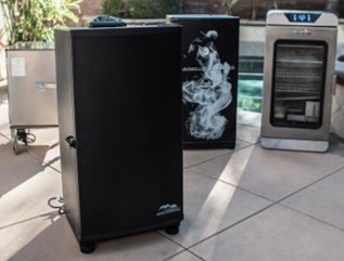 cooking outdoor with an electric smoker