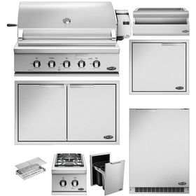 """DCS 10-Piece Series 9 36"""" Propane Gas Outdoor Kitchen Package"""