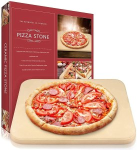 BreadKings Heavy Duty Cordierite Pizza Grilling Stone