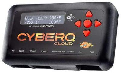 CyberQ BBQ Temperature Controller & Digital Meat Thermometer