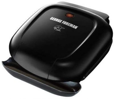 George Foreman 2-Serving Classic Plate Panini Press