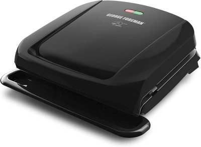 George Foreman 4-Serving Removable Plate Panini Press