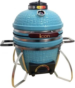 Icon Grills 100 Series 214 Sq. Inch Table Top Kamado Grill