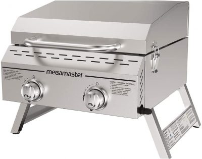 Megamaster 820-0033M Stainless Steel Propane Gas Grill