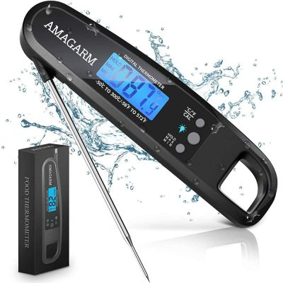 Powlaken Instant Read Food Thermometer