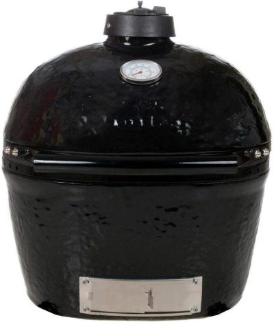 Primo Oval Junior 200 Ceramic Kamado Grill On GO Portable Carrier