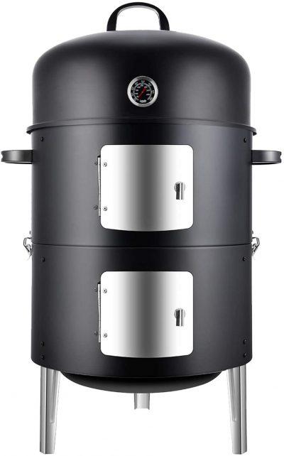 Realcook Vertical Steel Charcoal Smoker