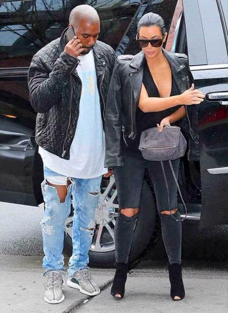 kanye-west-yeezy-350-boost-chrome-hearts-leather-jacket
